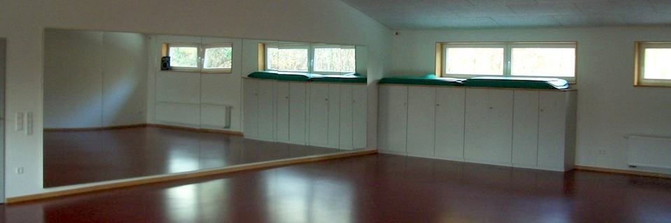 Gymnastikraum des TVO